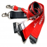 Unique Personalized Lanyard in Abbey Green 2