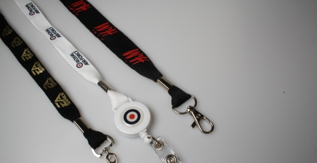 Custom Lanyards for Businesses in Bridgend