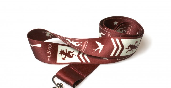Personalised Lanyards in Cliffburn