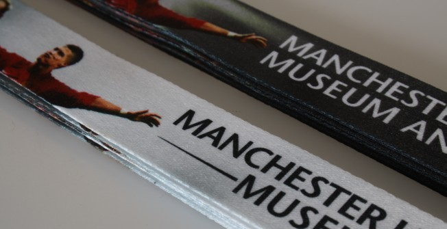 Customizable lanyard in Belfast