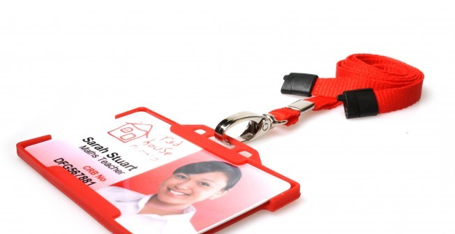 Identification Lanyard in Aberangell
